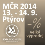 SOFA Dog Wear - LC Championchip if Czech Rep. 2014, Ptýrov 13. -14. 9.
