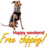 SOFA Dog Wear - Happy weekend with free shipping!