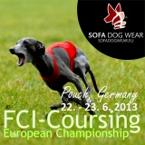 SOFA Dog Wear - EM Coursing Halbinsel Pouch, Germany