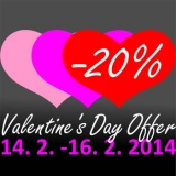 SOFA Dog Wear - Valentine´s Day offer: -20% for your 3 favourite models