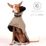 SOFA Dog Wear - Ne Colours of favourite raincoats - Noe in beige